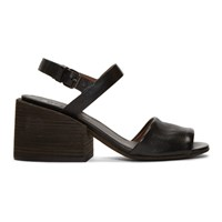 Marsell Black Taccone Sandals