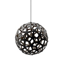 David Trubridge Coral Light Black 100Cm