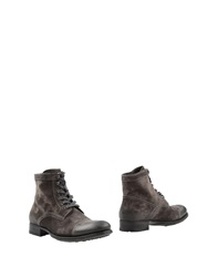 N.D.C. Made By Hand Ankle Boots Dark Brown