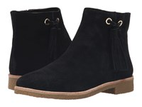 Kate Spade Bellamy Black Sport Suede Women's Zip Boots