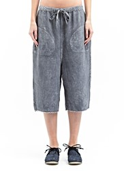 Marvielab Textured Short Jogging Pants Grey
