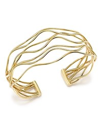 Bloomingdale's 14K Yellow Gold Wave Wire Cuff 100 Exclusive