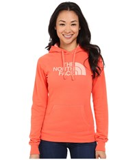 The North Face Half Dome Hoodie Radiant Orange Neon Peach Women's Sweatshirt