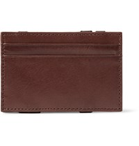 J.Crew Leather Magic Wallet Brown