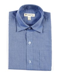 Appaman Standard Solid Long Sleeve Shirt Blue