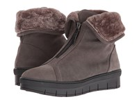 Cordani Phillips Grey Suede Women's Boots Gray
