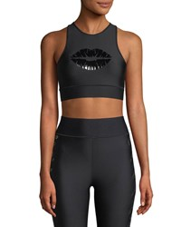 Ultracor Altitude Lux Make Out Crop Top Black