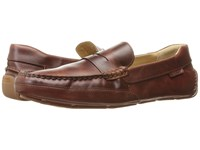 Sebago Kedge Penny Brown Oiled Waxy Leather Men's Shoes