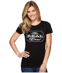 Ariat The Real Deal Top Black Women's T Shirt