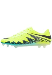 Nike Performance Hypervenom Phinish Fg Football Boots Volt Black Hyper Turquoise Clear Jade Neon Yellow