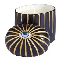 L'objet Lito Eye Candle Blue And Gold