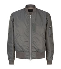 Allsaints Marlo Bomber Jacket Male Grey