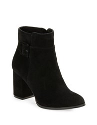 424 Fifth Layna Suede Ankle Boots Black