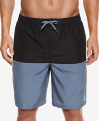 Nike Men's Water Shedding Swim Trunks 9 Black