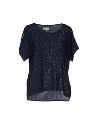By Ti Mo Blouses Dark Blue