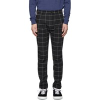 Paul Smith Ps By Black Turn Up Trousers