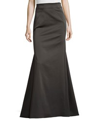 Zac Posen Floor Length Skirt Concrete