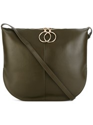 Nina Ricci Kuti Tote Women Leather Suede One Size Brown