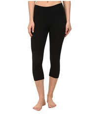 Michael Stars Cropped Legging Black Women's Casual Pants