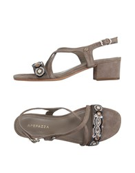 Apepazza Footwear Sandals Women Camel