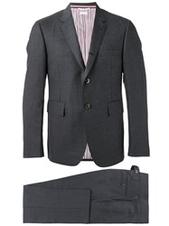 Thom Browne Formal Two Piece Suit Grey