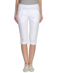 Twin Set Simona Barbieri Beach Pants White