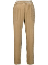 Antonelli Tapered Trousers Neutrals