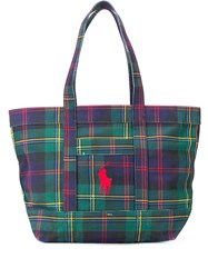 Polo Ralph Lauren Plaid Tote 60