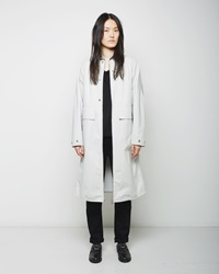 Maison Martin Margiela Coated Canvas Barn Coat Blue Fox