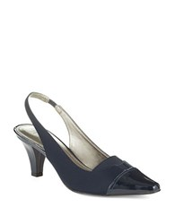 Circa Joan And David Dameka Slingback Pumps Midnight