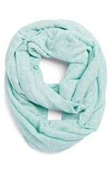 Women's Bcbgeneration Speckled Knit Infinity Scarf Green