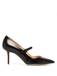 Rupert Sanderson Robyn Leather Mary Jane Pumps Black