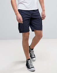 Napapijri Noto Cargo Shorts In Navy Blue Marine
