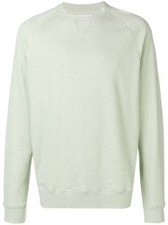 26cf4cf5679aa Barbour Crew Neck Sweatshirt Green