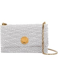 Bally Extra Small 'Eclipse' Shoulder Bag White