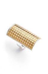 Anna Beck 'Gili' Saddle Ring Gold Silver
