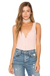 Privacy Please Gyle Bodysuit Pink