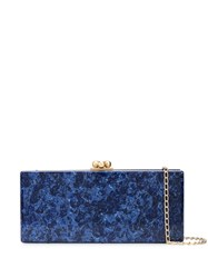 Edie Parker Marbled Slim Clutch 60