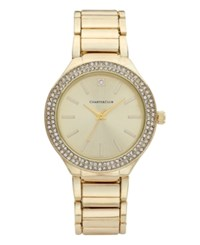 Charter Club Gold Tone Bracelet Watch 38Mm Only At Macy's