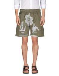 Fifteen And Half Bermudas Military Green