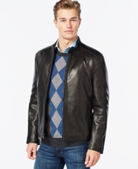 Marc New York Moto Style Faux Leather Jacket
