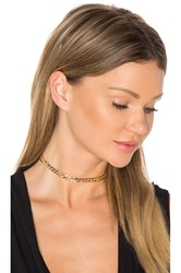 Ettika Chain Choker Metallic Gold