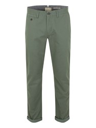 Racing Green Bridge Flat Front Chinos Beige