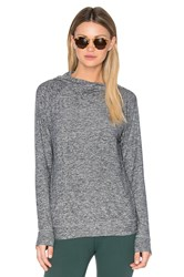Beyond Yoga Featherweight Spacedye Dolman Hoodie Gray