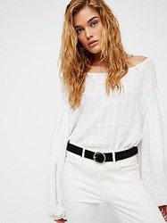 Free People Audrey Suede Belt By