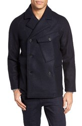 Billy Reid Men's Phil Virgin Wool Peacoat