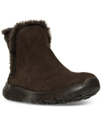Skechers Women's On The Go 400 Cozies Outdoor Boots From Finish Line Chocolate