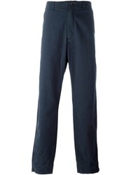 Universal Works Tapered Trousers Blue