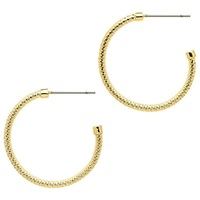 Monet Small Hoop Earrings Gold