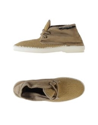 Collection Privee Collection Privee High Tops And Trainers Khaki